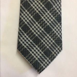 TOM FORD Plaid Jacquard Silk Tie